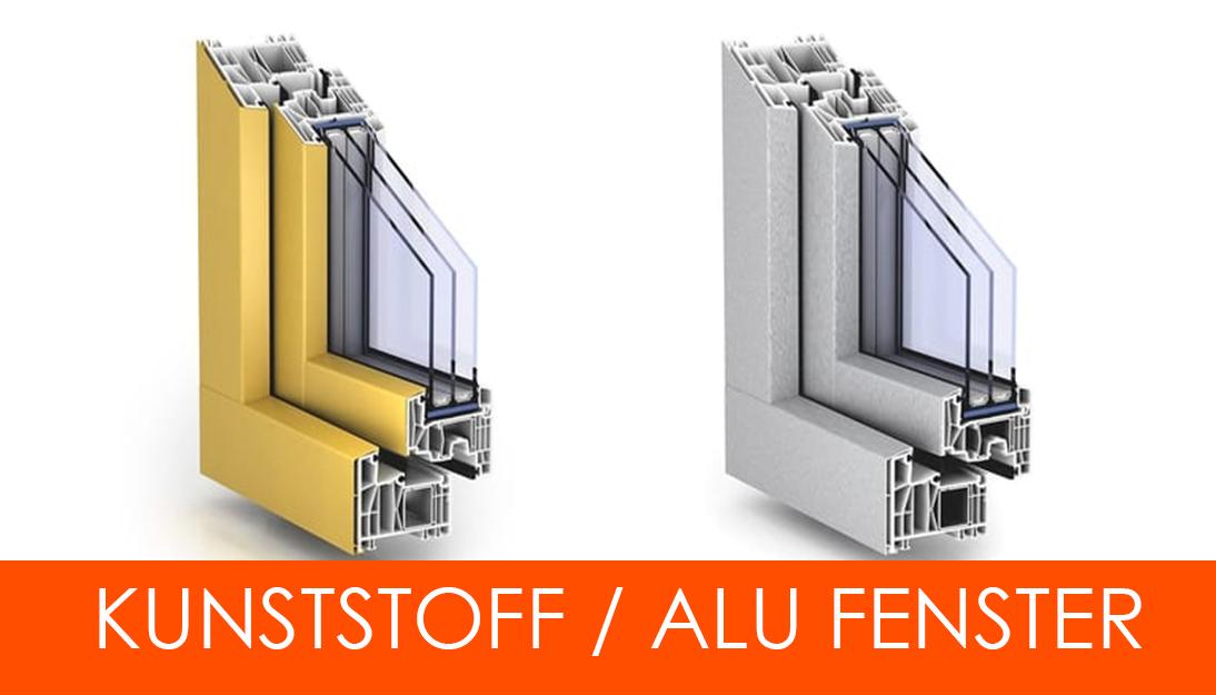 PVC-Fenster Dreifachverglast** Alle Ausführungen **Kunststofffenster nach Maß